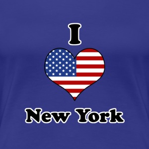 I love New York T-shirts - Vrouwen Premium T-shirt