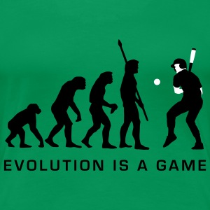evolution_baseball_072011_b_2c T-skjorter - Premium T-skjorte for kvinner
