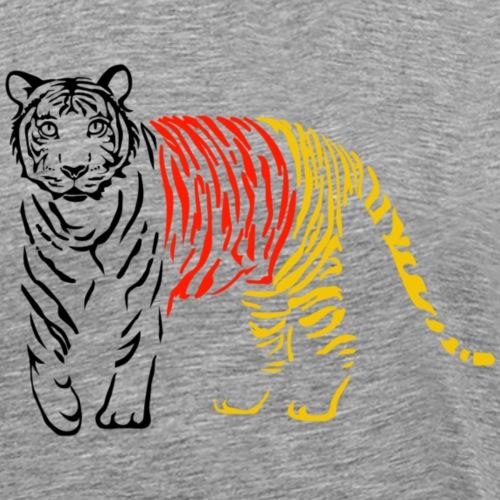 tiger katze puma gepard löwe leopard wildkatze schwarz rot gold deutschland fussball