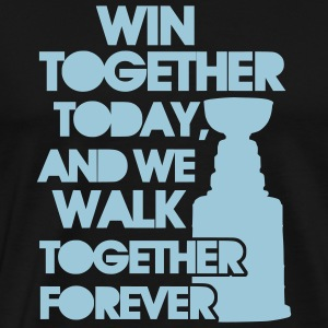 'Win Together' Men's Big & Tall T-Shirt - Premium-T-shirt herr