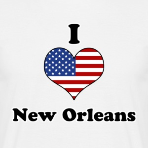 I love New Orleans T-Shirts - Men's T-Shirt