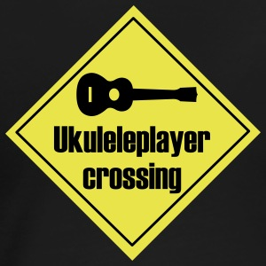 Uke player crossing T-Shirts - Frauen Premium T-Shirt