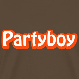 Partyboy | Boy T-Shirts - Premium T-skjorte for menn
