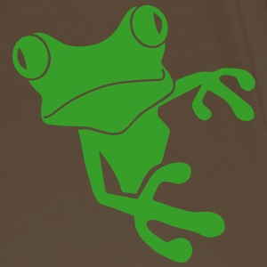 shirt frog princess prince kiss me toad squib paddock pout frogmouth mouth lips - Men's Premium T-Shirt