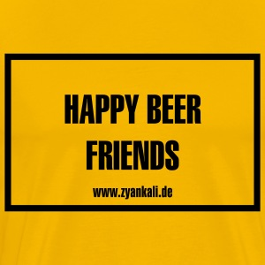 Happy beer friends - Männer Premium T-Shirt