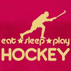 Eat Sleep Play Hockey T-Shirts - Women's Premium T-Shirt