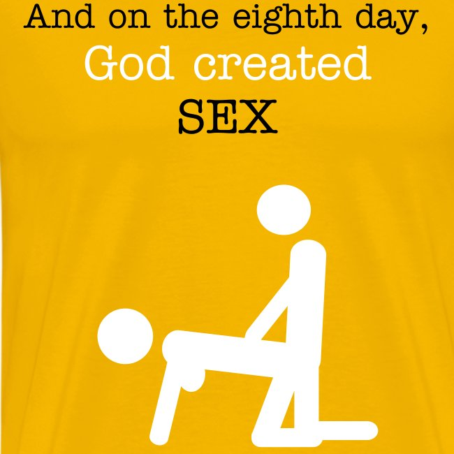 God created sex