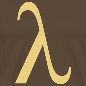 lambda greek T-Shirts - Men's Premium T-Shirt