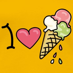 I love icecream Camisetas