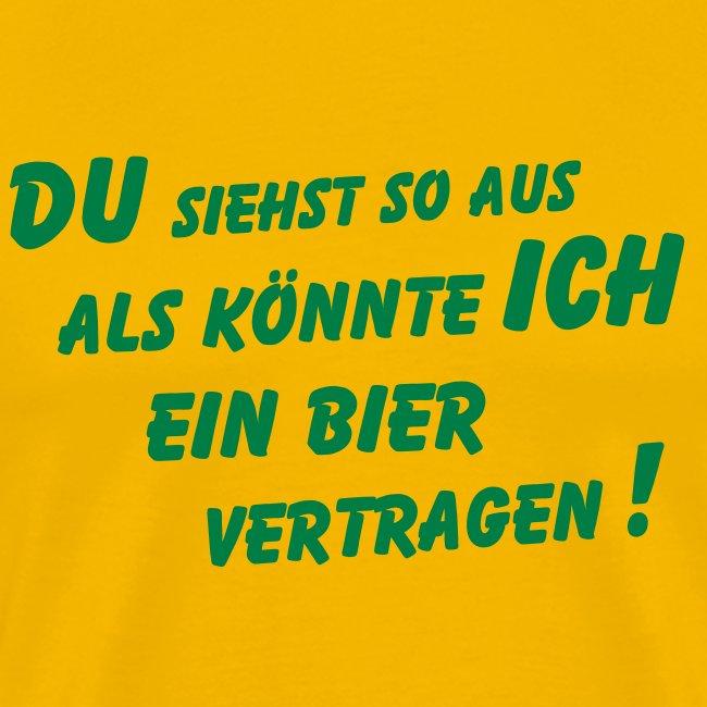 T Shirt Designer Gkaat Bier Vertragen Shirt Männer Premium T