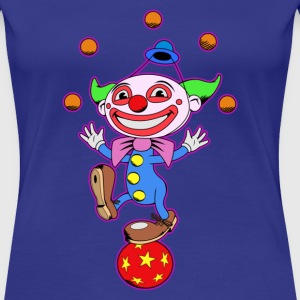 Clown - Frauen Premium T-Shirt