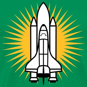 Space Shuttle | Shuttle | Star T-Shirts - Mannen Premium T-shirt