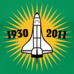 Shuttle | 1930 | 2011 T-Shirts - Premium T-skjorte for kvinner