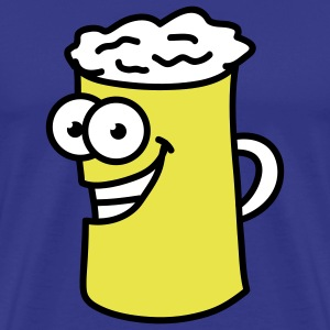 happy_beer_3c T-Shirts - Men's Premium T-Shirt