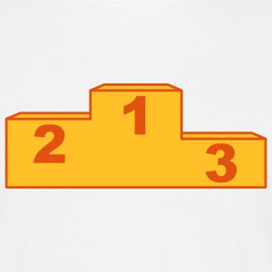 podium_2c T-shirts - Herre-T-shirt