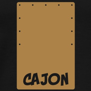 Cajon Beat-Box T-Shirts - Men's Premium T-Shirt