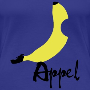 Banana / Apple Artwork T-shirts - Vrouwen Premium T-shirt