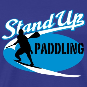 Stand Up Paddling | Surfing | Paddling T-Shirts - Mannen Premium T-shirt