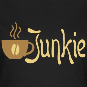 COFFEE JUNKIE | Frauenshirt Girlie Style - Frauen T-Shirt