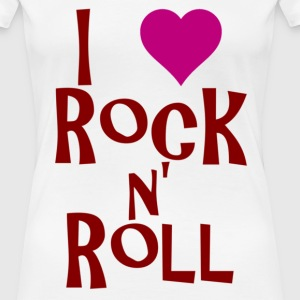 rock n roll T-Shirts - Women's Premium T-Shirt