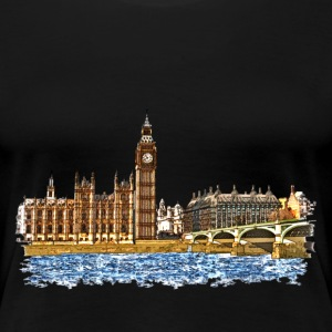 houses of parliament T-Shirts - Frauen Premium T-Shirt