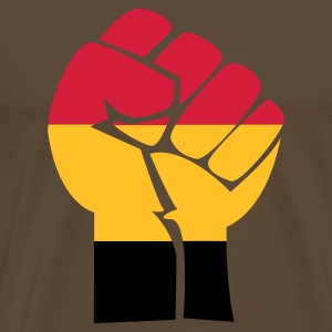 fist germany - Premium-T-shirt herr