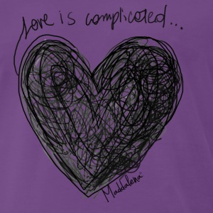 Love Is Complicated T-Shirts - Men's Premium T-Shirt
