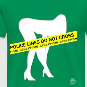 Tee shirt sex crime by CustomStyle T-shirts - T-shirt Premium Homme