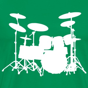 Drum Set - Männer Premium T-Shirt