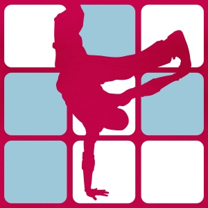BREAKDANCE 2C 1 T-Shirts - Frauen Premium T-Shirt