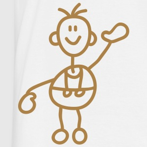 happy_stick_figure_1c T-shirts - T-shirt herr