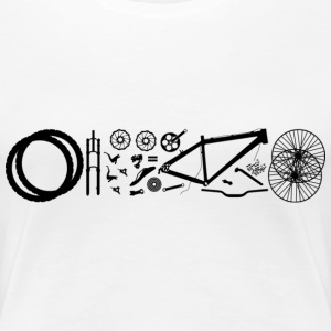 Bike T-Shirts - Frauen Premium T-Shirt