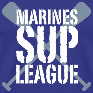 Marines SUP LEAGUE | Stand Up Paddling T-Shirts - Mannen Premium T-shirt
