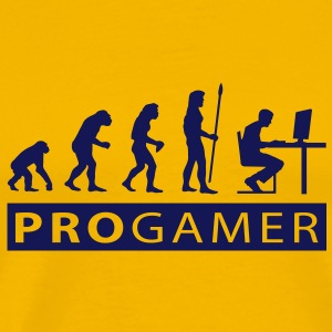 evolution_pc_gamer3 T-shirts - Herre premium T-shirt