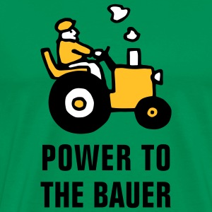 power_to_the_bauer_072011_b_3c T-Shirts - Männer Premium T-Shirt