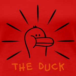 The Duck - Die Ente T-Shirts - Frauen Premium T-Shirt