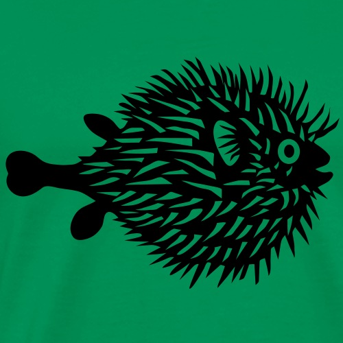 puffer fish blowfish pregnant belly beer belly fishing fisherman mother mom mummy