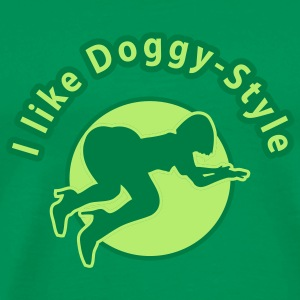doggy_style1_3c T-Shirts - Men's Premium T-Shirt
