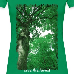 Save The Forest T-Shirts - Frauen Premium T-Shirt