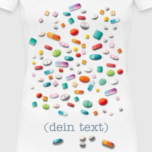Pillen - Frauen Premium T-Shirt