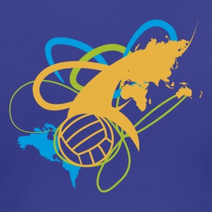 Volleyball International T-Shirts - Women's Premium T-Shirt