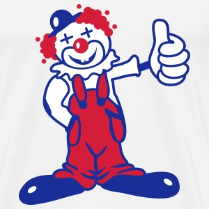 A funny clown T-Shirts - Men's Premium T-Shirt