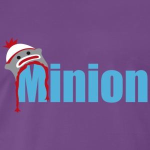 Minion (light blue) T-Shirts - Men's Premium T-Shirt