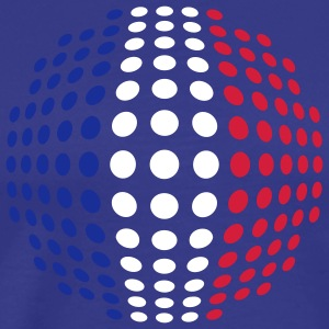 france_flag_3c T-Shirts - Men's Premium T-Shirt