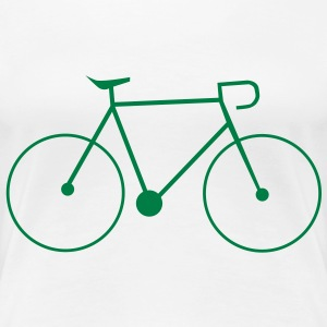 bike singlespeed fixie bicycle T-Shirts - Women's Premium T-Shirt