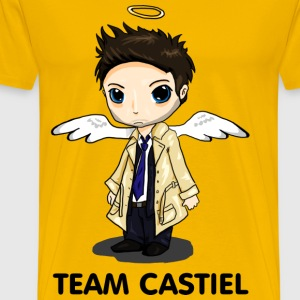 Team Castiel (light) T-Shirts - Men's Premium T-Shirt