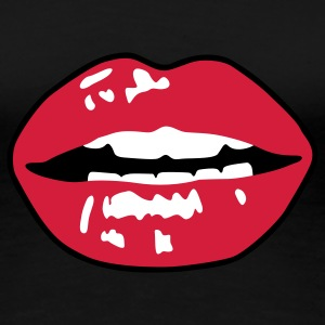 Hot Lips T-Shirts - Women's Premium T-Shirt