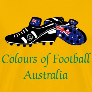 Football Colours of Australia - Classic Tee - Men's Premium T-Shirt