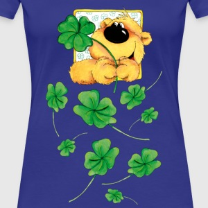 The Bear and the clover T-shirts - Premium-T-shirt dam