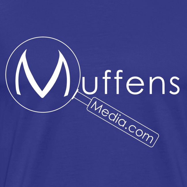 Muffens Media T-Shirt: Blue